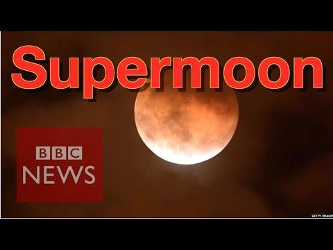 'Supermoon' around the world - BBC News