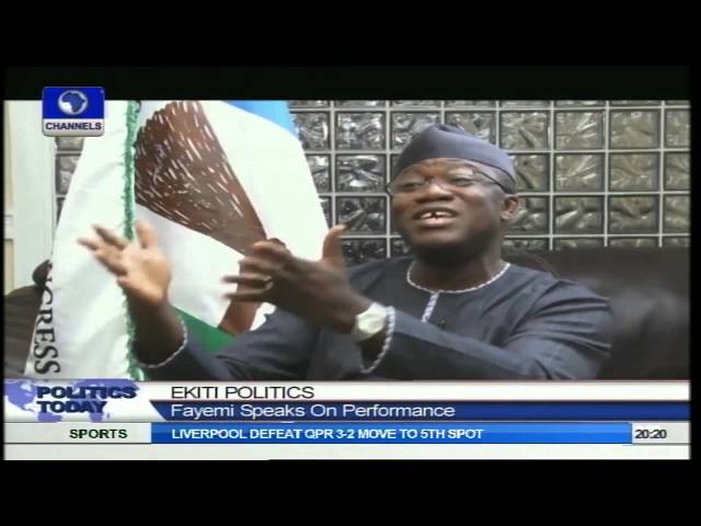 Politics Today:  Kayode Fayemi Speaks On His Future Plans And Ekiti Politics  Pt2