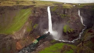 Aerial views of Iceland
