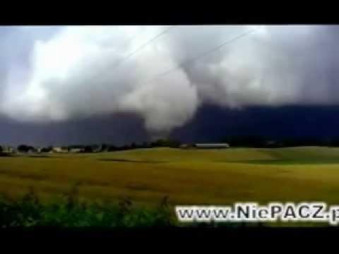 Trąba Powietrzna Tornado Sztum 14.07.2012 / Tornado In Poland