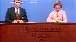 WLS Channel 7 - End of Eyewitness News at 5pm and Opening of ABC News (Short Excerpt, 1976)