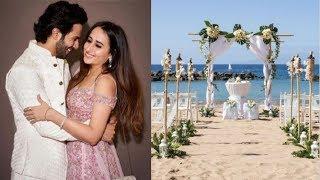 Varun Dhawan & Natasha Dalal's WEDDING Details REVEALED