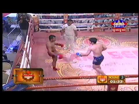 Khmer Boxing | Bird Kham Vs Thai | Seatv Boxing | July 2015 | this week | Sport