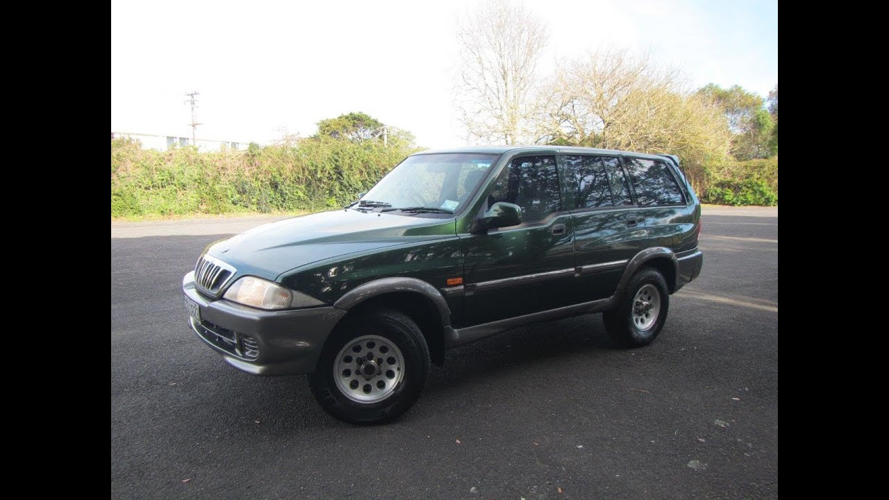 2001 Ssangyong Musso 4WD 7 Seater SUV $1 RESERVE!!! $Cash4Cars ...