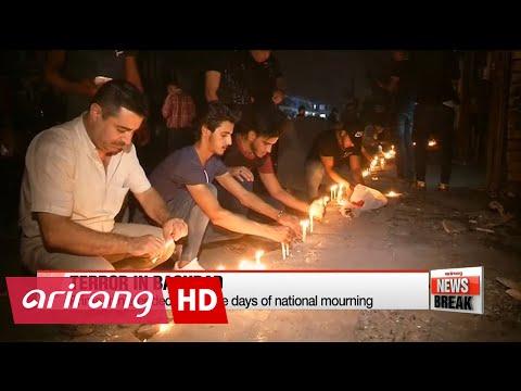 Iraq mourns Baghdad terror attack victims
