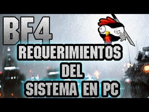 Requisitos mínimos para Battlefield 4