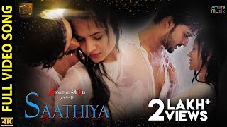 Saathiya | Full Video Song | Odia Music Album | 4K | Aryan | Poornima | Shasank | Addictive Shots
