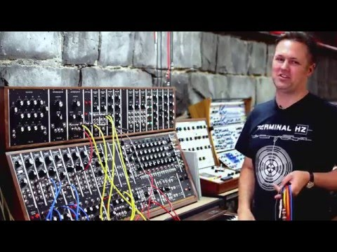 MESS (Melbourne Electronic Sound Studio): How A Moog 55 Works