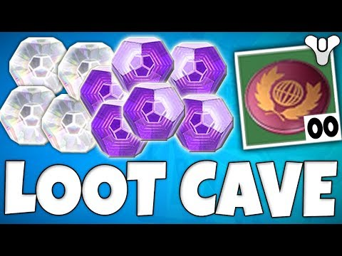 Destiny 2: INSANE LOOT CAVE CHEST Farm! XP, Legendary Engrams, Bright Engrams, Glimmer & Tokens