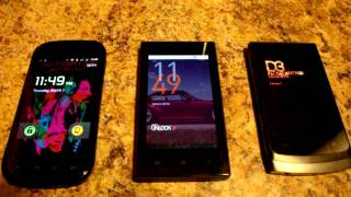 Cowon Z2 vs D3 vs Nexus S 4G Boot up