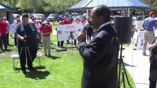 Black American destroys the Libtards and Trump Haters at Rally for Trump, Temecula, 3-26-16