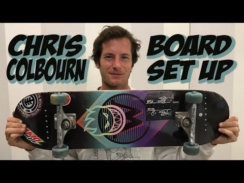 CHRIS COLBOURN SOPHISTICATED BOARD SET UP !!!