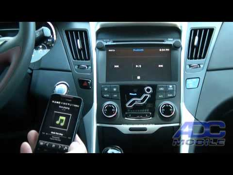 2011 Hyundai Sonata: Advent OE Navigation: Bluetooth Audio & Hands-Free