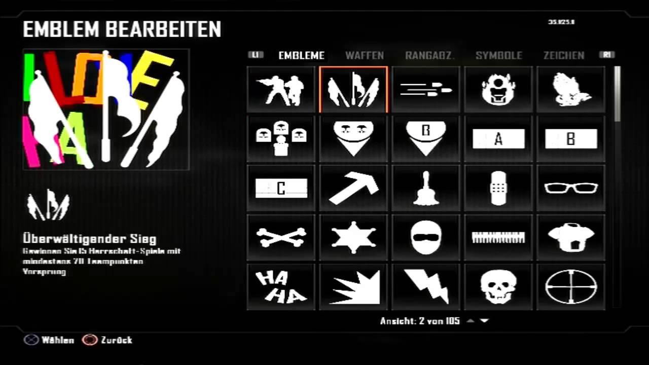 Bo2 i Love Haters Emblem