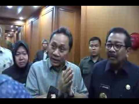 Pertemuan Menhut,Gubernur Jatim dan Walikota Surabaya Selesaikan Konflik KBS