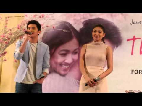 JaDine singing #ThisTime theme song
