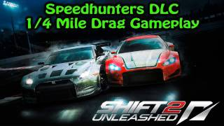 SHIFT 2: Unleashed PS3 - Speedhunters DLC - 1/4 Mile Drag Gameplay