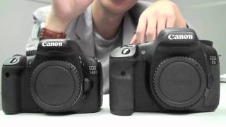 Canon EOS 550D vs. 7D - Head to Head Comparison