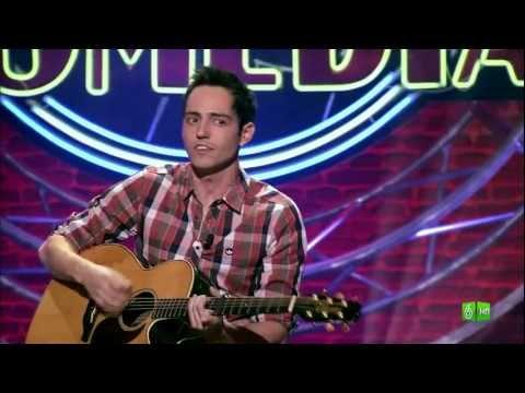 David Guapo en El Club de la Comedia. Emitido el 1 de enero de 2012.
