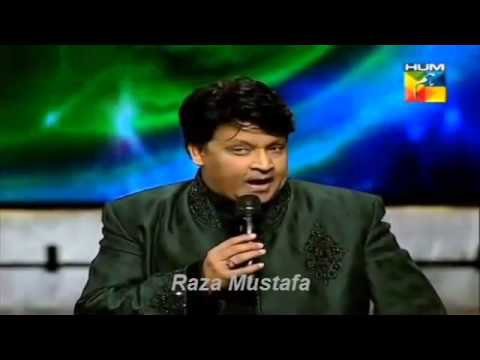 Umer Sharif Live Performance In 1st Hum Tv Awards 28th April 2013 video