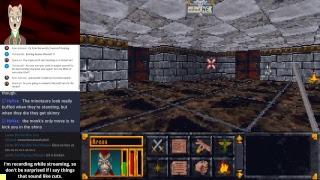 [Raw livestream archive] The Elder Scrolls: Arena — Kill kill kill! — Yahweasel