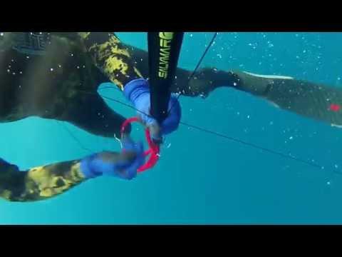 chasse sous marine en ALGERIE __ badeche 5kg a 29m