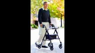Rollator Walker | NOVA Medical Products Mighty Mack Heavy Duty Rolling Walker Review