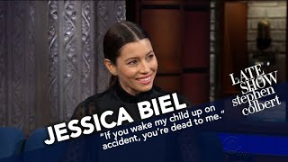 Jessica Biel Talks Smack About Her Two Year Old