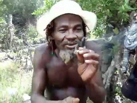 Jamaican Rasta Man good weed man