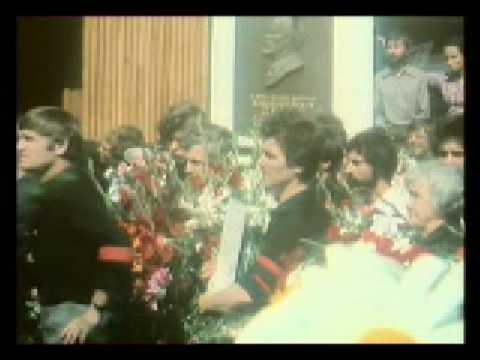 Похороны В. Высоцкого - Чужая колея. 1980