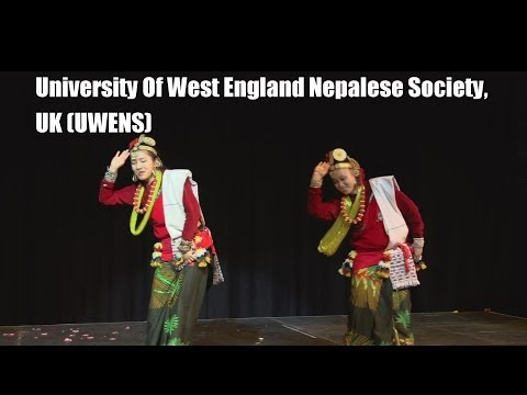 Inter-Uni Nepalese Dance Competition 2014 (University Of West England Nepalese Society, UK) UWENS