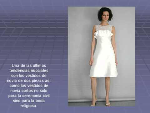 Vestidos de Novia Cortos para Señoras : vestidos de novia originales