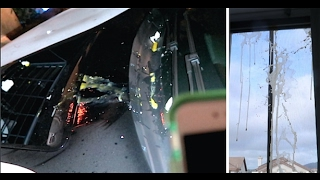 THEY EGGED MY BMW i8 & MY HOUSE! (caught by police)