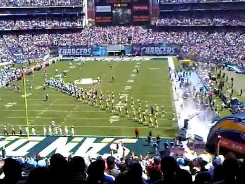 San Diego Chargers Players San Diego Chargers Opening