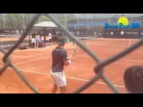Rafael Nadal e Juan Monaco Practice - Sunday | Rio Open 2014