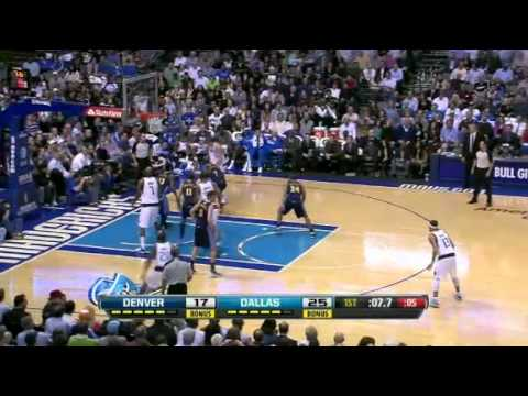 NBA Denver Nuggets Vs Dallas Mavericks Highlights Feb 15, 2012 Game Recap