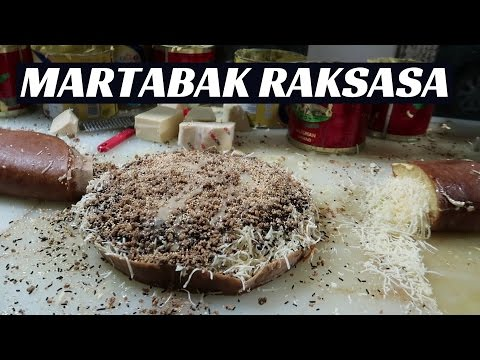 Reaksi orang luar negeri makan MARTABAK JUMBO !!