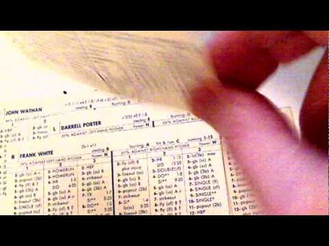 My Golden Age of Strat-O-Matic Baseball 1977-1984 Part 4 of 8
