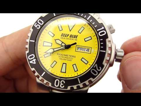 Deep Blue Sea Diver 1K (KeepTheTime.com)