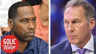 Elton Brand replaces Bryan Colangelo as 76ers' general manager | Golic & Wingo | ESPN