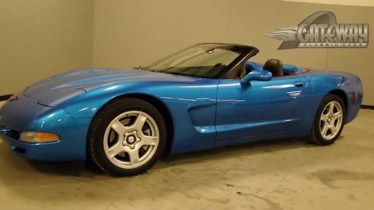 1999 Chevrolet Corvette For Sale At Gateway Classic Cars