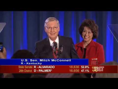 Kentucky U.S. Sen. Mitch McConnell Victory Speech | Election 2014 | KET