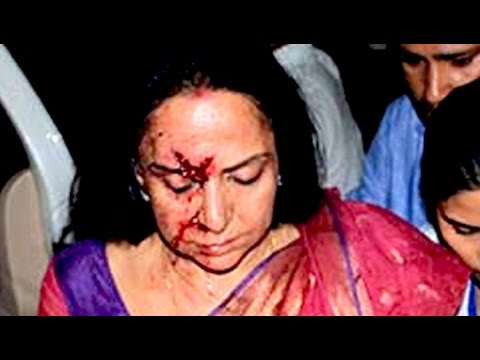 Hema Malini's driver arrested after accident in which a child was killed