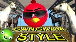 ANGRY BIRDS dance GANGNAM STYLE   ♫ 3D animated mashup parody ☺ FunTV - Style ;-))