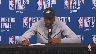 Kevin Durant Postgame Interview | Warriors vs Rockets Game 5