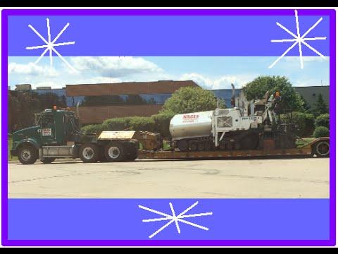 Asphalt Paving Machine Transport