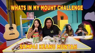 WHAT'S IN MY MOUTH WITH KEANU 😱😱