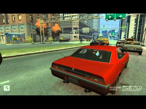 GTA IV Car crashes!