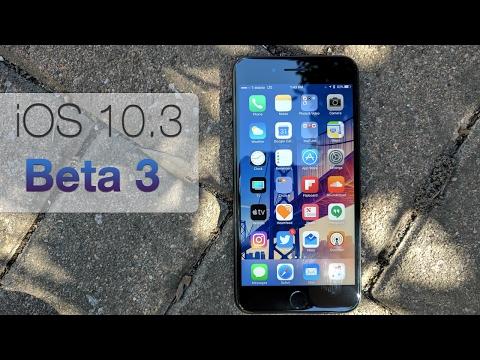 iOS 10.3 Beta 3 - What's New?