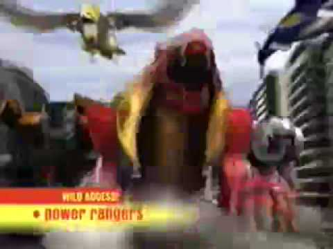 Power Rangers Wild Force Promo